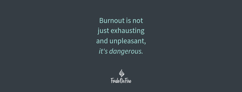 Let's Talk About Burnout